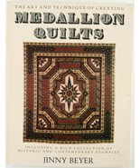 Creating Medallion Quilts Jinny Beyer PB 1982 Patterns Quilt History - $10.00