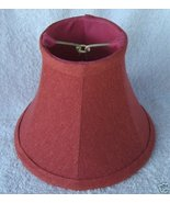 New ROSE TEXTURED Mini Chandelier Lamp Shade Shade - $13.00