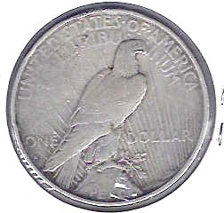 Key Date 1934 S silver Peace dollar