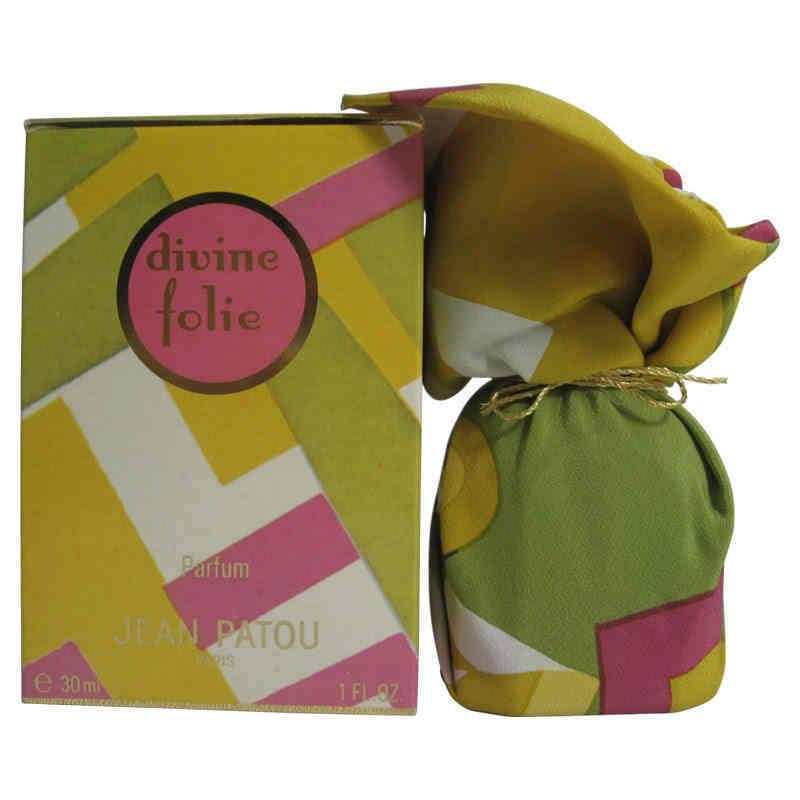DIVINE FOLIE Jean Patou PURE PARFUM 30ml VINTAGE PERFUME NIB Women Fragrance