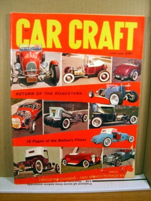 Car craft magazine june 1960 return of the roadsters for Car craft magazine back issues