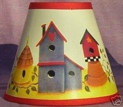 New BIRDHOUSE Paper Mini Chandelier Lamp Shade - $6.50