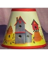 New BIRDHOUSE Paper Mini Chandelier Lamp Shade - $6.50