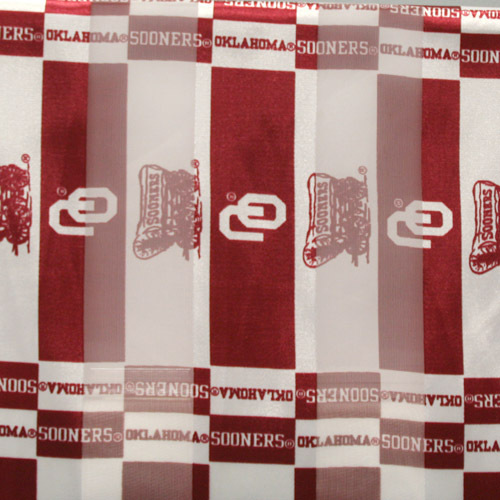 Oklahoma Sooners Officialy Licensed Ncaa Polyester Scarf