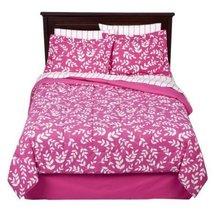Room Essentials Pink Vine 6 Piece Twin Bedding Set - $60.00