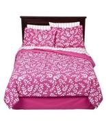Room Essentials Pink Vine 6 Piece Twin Bedding Set - $57.00