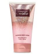 Bath & Body Works A THOUSAND WISHES Glowing Body Scrub ~ 8 oz ~ Brand New - £13.44 GBP