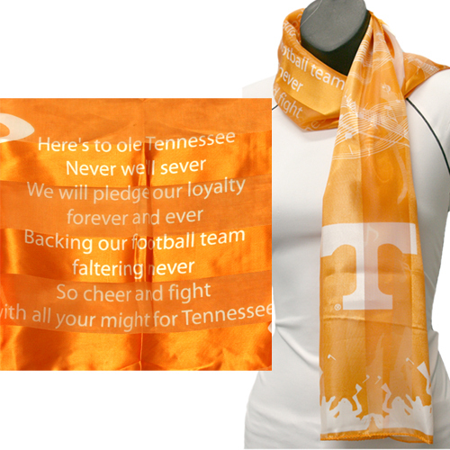 Tennesse Volunteers Officialy Licensed Ncaa Musical Scarf