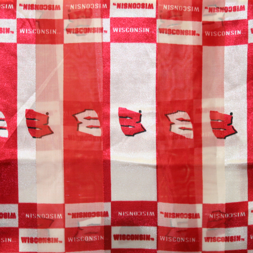 Wisconsin Badgers Officialy Licensed Ncaa Polyester Scarf