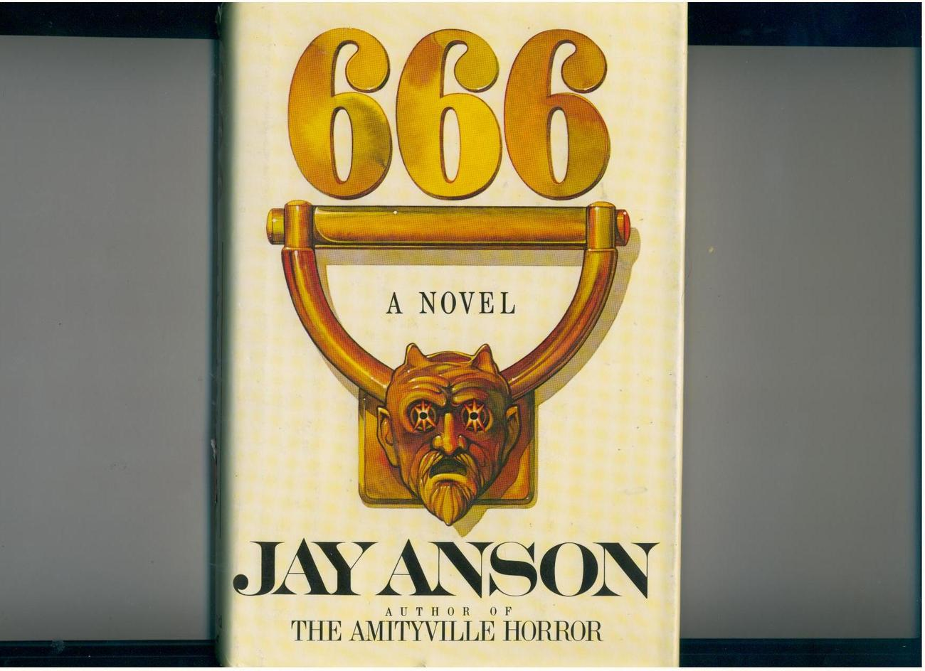 666 by Jay Anson - 1981 - hb/dj, 1st Edition - horror novel