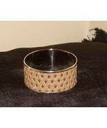 Beautiful Bangle Inlaid Bracelet Beige With Sparkles - $15.99