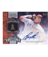 2013 Topps Update Chasing History Autographs #CHA-GR Garrett Richards An... - $8.00