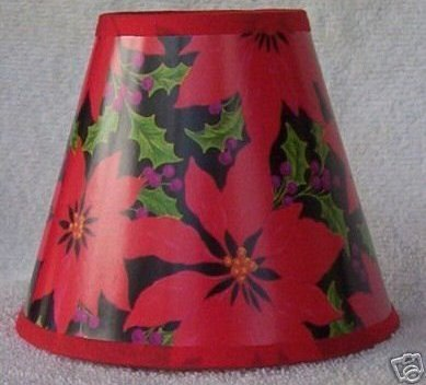 HOLLY BERRY Mini Paper Chandelier Lamp Shade