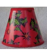 HOLLY BERRY Mini Paper Chandelier Lamp Shade - $6.50
