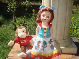 Madame Alexander Wendy Playtimme With Curious George BK - $76.99