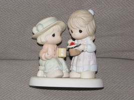 2002 PRECIOUS MOMENTS GROUNDS FOR A GREAT FRIENDSHIP FIGURINE 108536 - $32.91