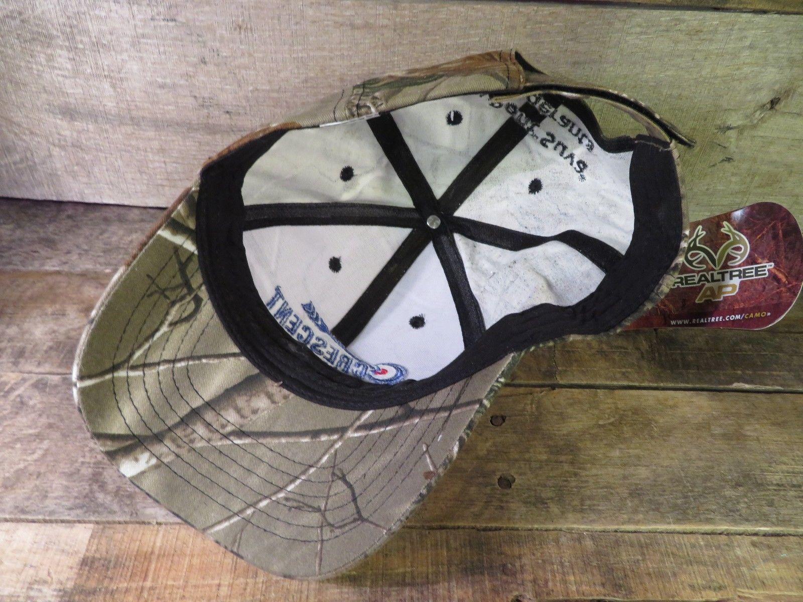 CRESCENT Parts & Equipment Camo Camouflage Adjustable Hat Adult Cap