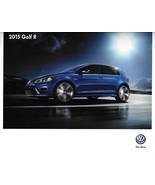 2015 Volkswagen GOLF R brochure catalog US 15 VW 2.0T S SE Autobahn - $12.00