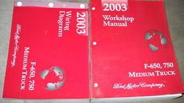 2003 Ford F-650 F650 F-750 F650 750 Medium Truck Service Shop Repair Man... - $17.77