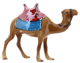 Hagen-Renaker Specialties Ceramic Nativity Figurine Saddled Camel with Blanket image 10