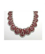 60% CLEARANCE!! NWT $525,000 RARE 18KT GOLD RARE FANCY RUBY AND DIAMOND ... - $207,900.00