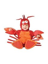 Incharacter Lil' Aragosta Crostaceo Bambini Neonato Costume Halloween 6025 - $39.89