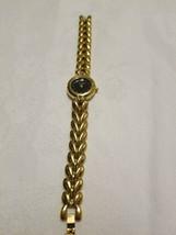 Women's Dress Watch Wittnauer Swiss 5120 gold band some wear needs battery c1997 - $29.69