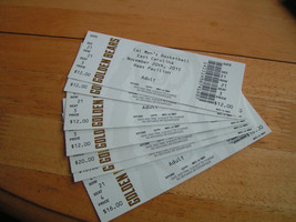Cal Golden Bears Haas Pavilion Basketball Ticket Stub Lot - $3.99
