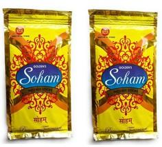 Golden's Soham Incense Sticks Siddhi vinayaka Agarbatti 180gm Sticks Fra... - $15.99