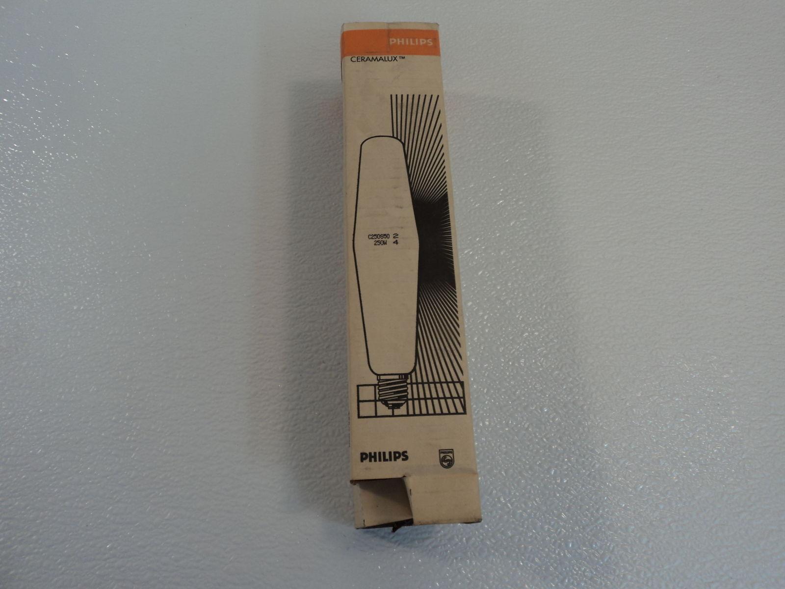 Philips Ceramalux 250W High Pressure Sodium Lamp Clear ED18 Series C250S50