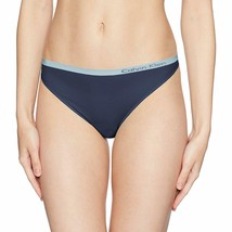 Calvin Klein Shoreline Blue Pure Seamless Thong Panties Underwear QD3544-476