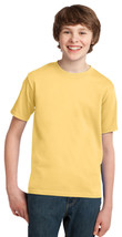 Port Company Youth T-Shirt PC61Y - Daffodil Yellow - $6.00