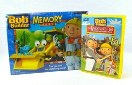 NEW Bob the Builder Lot Memory Game Matching Hasbro Nickelodeon W/ Used DVD - $30.00