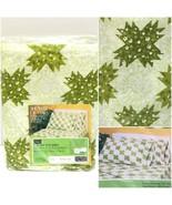 Vintage Sears Roebuck Perma Prest Muslin Full Flat Sheet Green 81x96 New... - $24.94