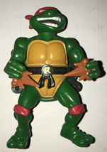 1991 Mirage Studios TMNT Raphael W/ City Sewer Shell Toy Figure Playmate... - $8.99