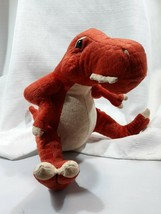 Animal Adventure T-REX Tyrannosaurus Dinosaur Rust Orange Tan 9in Plush ... - $12.38