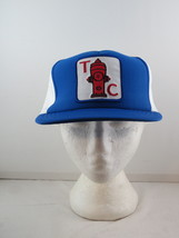 Vintage Patched Trucker Hat - Terminal City Iron-Works - Adult Sanpback - $45.00