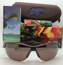 Nuevas Polarizadas Maui Jim Gafas de Sol Sexy Tierra Mj 426-26 Rootbeer Hcl image 11