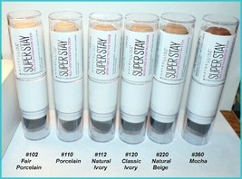 NEW Maybelline SUPER STAY Multi-Use Foundation Stick  U CHOOSE  Free Shi... - $7.95