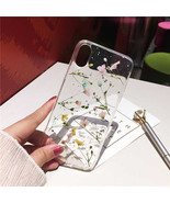 Real Dried Flower Cases For Iphone Case Handmade Clear Soft Fresh (1) - $17.99
