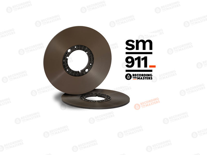 "RTM BASF Reel Master Tape SM911 1/4"" 2500' 762m 10.5"" PANCAKE Authorised Dealer"