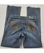 Kut from the Kloth Womens Jeans Sz 6 Flare Mid Rise Medium Wash Denim ** - $29.01