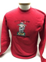 Mary Engelbreit Put the Fun Back In Dysfunctional Red Sweatshirt Size Small - $35.59