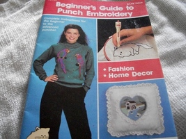 Beginner's Guide to Punch Embroidery - $7.00