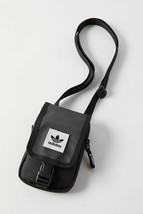 NWT ADIDAS ORIGINALS Map Bag Convertible Mini Crossbody in Black - $18.04