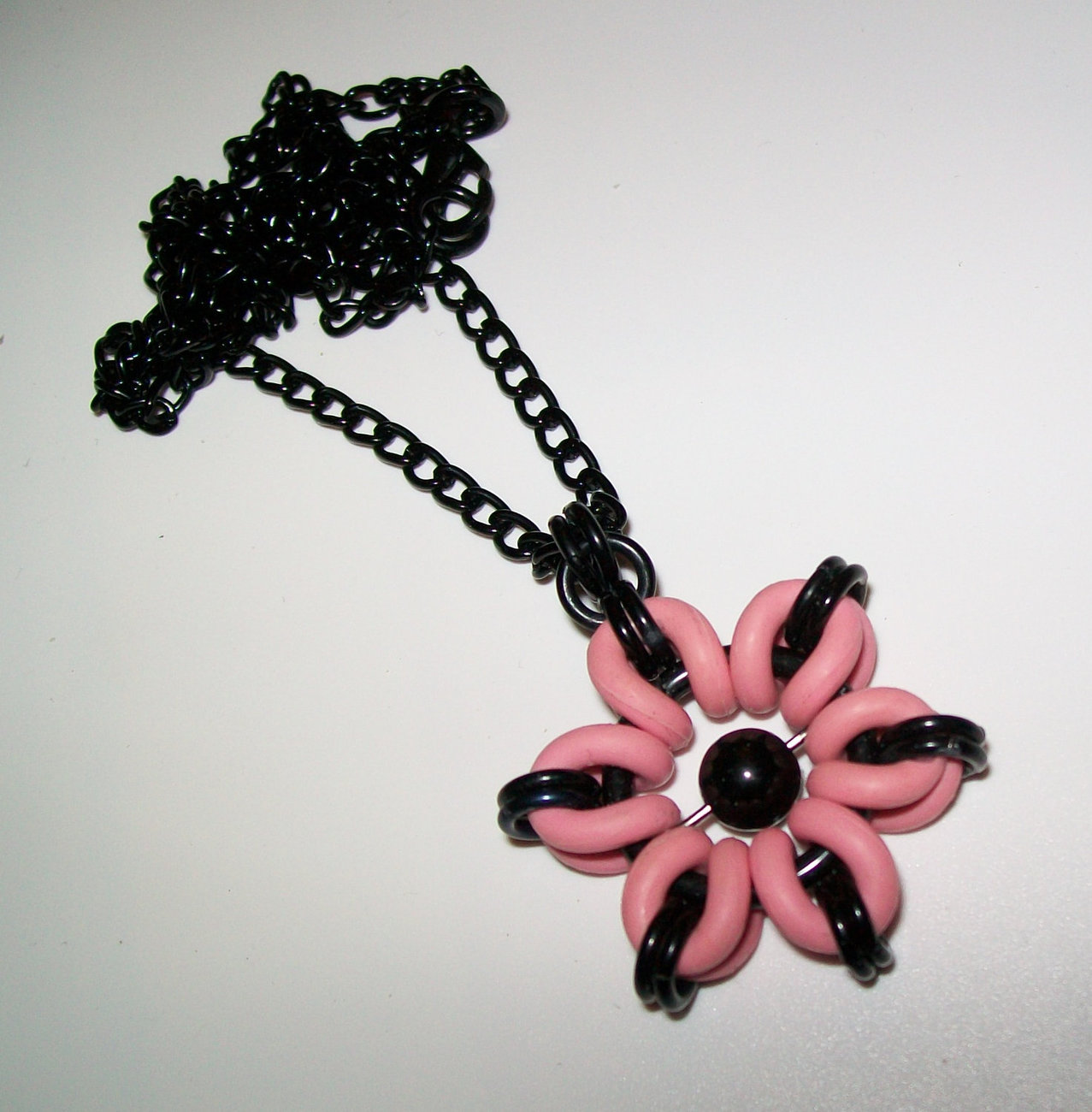 Punk Flower Necklace and/or Earrings