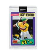 Topps PROJECT 2020 Baseball Card 123 - 1980 Rickey Henderson by Jacob Ro... - $34.64