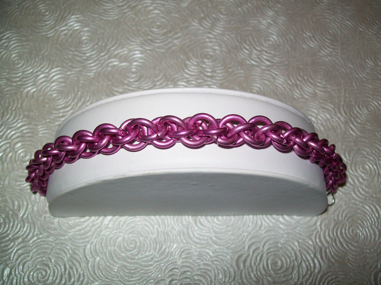 Pink Awareness JPL Chainmaille Bracelet