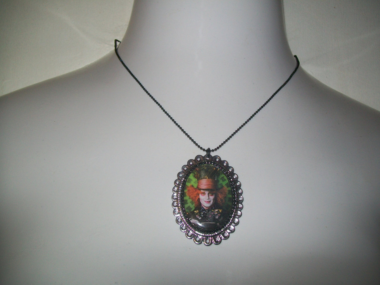 Mad Hatter Alice in Wonderland Necklace