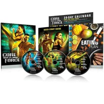 CORE DE FORCE Base Kit DVD workout program - MMA inspired  -in plastic - $21.51